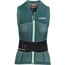 Acquisto Live Shield Vest Amid W Dark Green/Mint