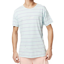 Kauf Lm Striped Wow T-Shirt Green Aop