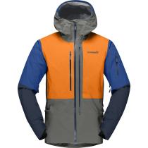 Compra Lofoten Gore-Tex Pro Jacket M Castor Grey/Orange Popsicle
