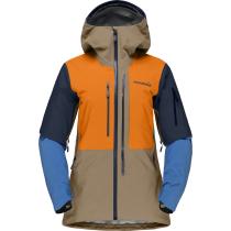Compra Lofoten Gore-Tex Pro Jacket W Elmwood/Orange Popsicle