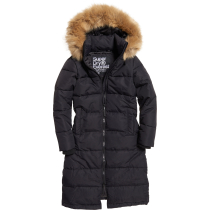 Compra Longline Quilted Everest Jacket W Black