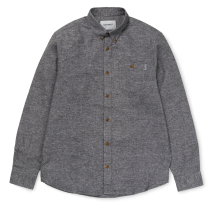 Kauf LS Cram Shirt Dark Grey Heather
