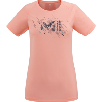 Achat LTK Print Light TS SS W Pop Coral/Lava