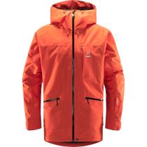 Buy Lumi Insulated Jacket Men Habanero