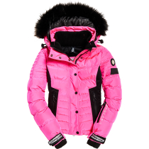 Achat Luxe Snow Puffer W Luminous Pink Sheen