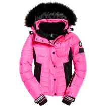 Compra Luxe Snow Puffer W Luminous Pink Sheen