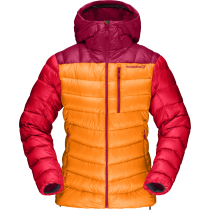 Achat Lyngen Down850 Hood Jacket W Orange Crush
