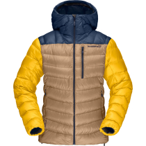 Achat Lyngen Down850 Hood W'S Indigo Night/Lemon Chrome