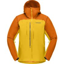 Buy Lyngen Gore-Tex Jacket M Orange Popsicle/Lemon Chrome
