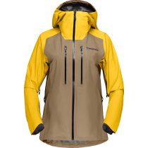 Achat Lyngen Gore-Tex Jacket W's Lemon Chrome/Elmwood