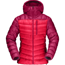Buy Lyngen Down850 Hood Jacket W Crisp Ruby