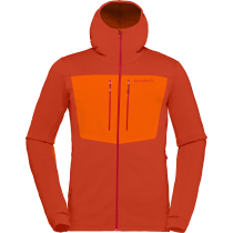 Buy Lyngen Powerstretch Pro Zip Hoodie M Rooibos Tea