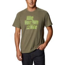 Acquisto M Alpine Way Graphic Tee M Stone Green Hike Your Own Hike