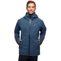 Buy M Boundary Line Insulated Jacket Azurite