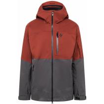 Buy M Boundary Line Mapp Insul Jacket Dark Crimson-Carbon