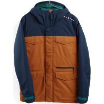 Achat M Covert Jacket - Slim Dress Blue/True Penny