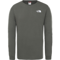 Achat M L/S Simple Dome Tee New Taupe Green/Tnf White