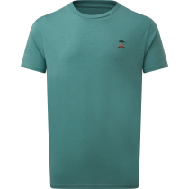 Acquisto M Palm Sunset Embroidery T-Shirt Sea Cliff Blue