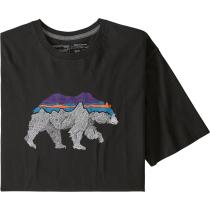 Buy M's Back For Good Organic T-Shirt Black w/Bear