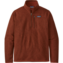 Achat M's Better Sweater 1/4 Zip Barn Red