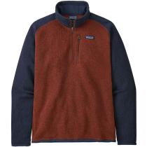 Acquisto M's Better Sweater 1/4 Zip Barn Red w/New Navy