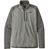 Buy M's Better Sweater 1/4 Zip Nickel w/Forge Grey
