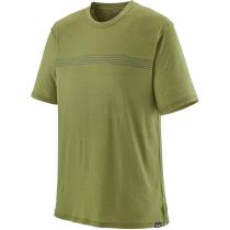 Compra M's Cap Cool Merino Graphic Shirt Fitz Roy Fader: Palo Green