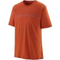 Achat M's Cap Cool Merino Graphic Shirt Fitz Roy Fader/Sandhill Rust