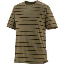 Achat M's Cap Cool Trail Shirt Furrow Stripe Sage Khaki