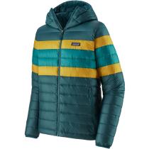 Buy M's Down Sweater Hoody Dark Borealis Green