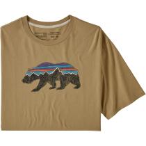 Buy M's Fitz Roy Bear Organic T-Shirt Classic Tan
