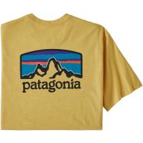 Buy M's Fitz Roy Horizons Responsibili-Tee Surfboard Yellow