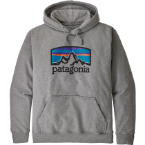 Achat M's Fitz Roy Horizons Uprisal Hoody Gravel Heather