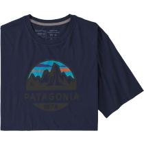 Acquisto M's Fitz Roy Scope Organic T-Shirt Classic Navy