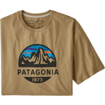 Buy M's Fitz Roy Scope Organic T-Shirt Classic Tan