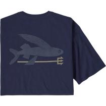 Buy M's Flying Fish Organic T-Shirt Classic Navy