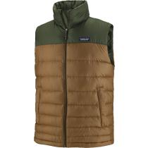 Buy M's Hi-Loft Down Vest Owl Brown