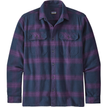 Acquisto M's L/S Fjord Flannel Shirt Burlwood: Purple
