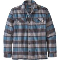 Buy M's L/S Fjord Flannel Shirt Plots: Pigeon Blue