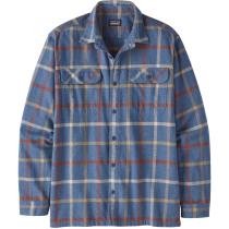 Acquisto M's L/S Organic Cotton MW Fjord Flannel Shirt Brisk/Dolomite Blue