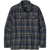 Acquisto M's L/S Organic Cotton MW Fjord Flannel Shirt Drifted/New Navy