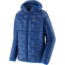 Buy M's Micro Puff Hoody Superior Blue