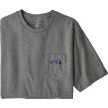 Buy M's P-6 Label Pocket Responsibili-Tee Gravel Heather