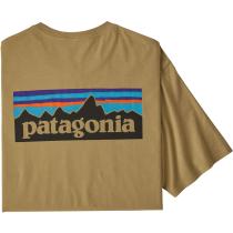Buy M's P-6 Logo Organic T-Shirt Classic Tan