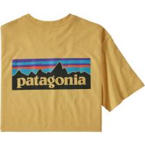 Buy M's P-6 Logo Responsibili-Tee Surfboard Yellow