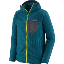 Achat M's R1 Air Full-Zip Hoody Crater Blue