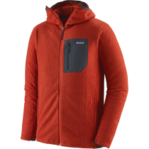 Achat M's R1 Air Full-Zip Hoody Hot Ember