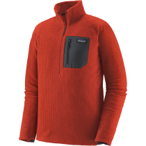 Acquisto M's R1 Air Zip Neck Hot Ember