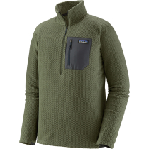 Buy M's R1 Air Zip Zip Neck Industrial Green