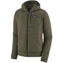 Buy M's R1 Full-Zip Hoody Industrial Green